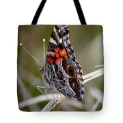 Virginia Lady Butterfly Side View Tote Bag