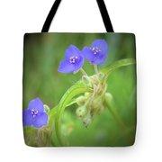 Virginia Spiderwort Tote Bag