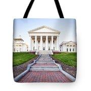 Virginia State Capitol Building Tote Bag