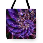 Virginias Violet Tote Bag