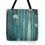 Viridian Bloom Tote Bag