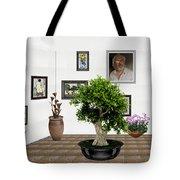 Virtual Exhibition -  Bonsai 13 Tote Bag