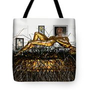 Virtual Exhibition With Birthday Cake Tote Bag