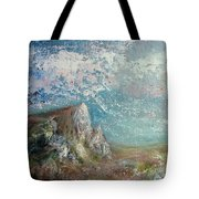 Virtual Mountain Tote Bag