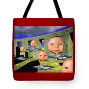 Virtual Stonehedge Tote Bag