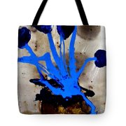 Virtually Blue Tote Bag