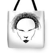 Visage Tote Bag