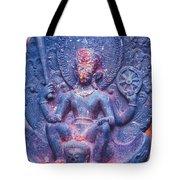 Vishnu Astride Garuda Tote Bag