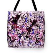 Visible String Theory Tote Bag