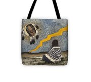 Vision Into Another World Tote Bag