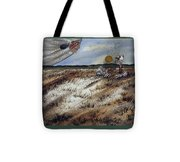 Vision Of The Sky Being Tote Bag