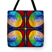 Visions Of Bliss And Abstract Artwork By Omaste Witkowski Tote Bag