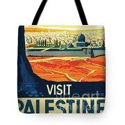 Visit Palestine Tote Bag