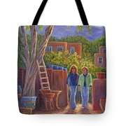 Visit To The Pottery Shop Tote Bag