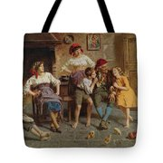 Visiting Grandfather Tote Bag