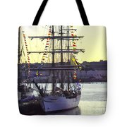 Visiting New London Tote Bag