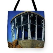 Visitor Center Atop Mt. Wellington Tote Bag