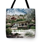 Visitor Center Best Friends Animal Sanctuary Angel Canyon Knob Utah Pa 01 Tote Bag