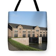 Visitors Centre Of The Woudagemaal Tote Bag