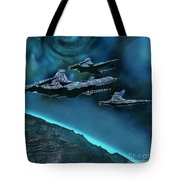 Visitors Tote Bag by Corey Ford
