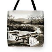 Visitors Welcome Bw Tote Bag