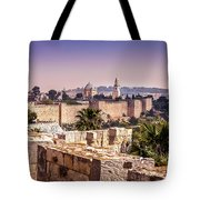 Vista From The Parapet Tote Bag