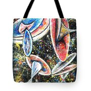 Vistas Of Life Force #64 Tote Bag