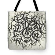 Visual Noise Tote Bag