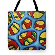 Vital Network Triptych Tote Bag