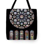 Vitraux - Cathedrale De Chartres - France Tote Bag