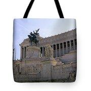 Vittorio Emanuele II Monument Tote Bag