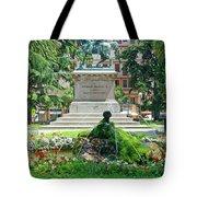 Vittorio Emanuele II Statue Tote Bag