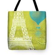 Viva La Paris Tote Bag