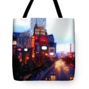 Viva Las Vegas Painting Tote Bag