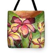 Vivian's Plumeria Tote Bag