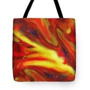 Vivid Abstract Vibrant Sensation IIi Tote Bag