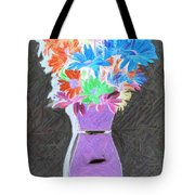 Vivid Arrangement Tote Bag