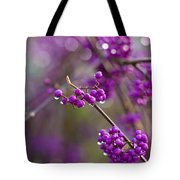 Vivid Beauty Berries Tote Bag