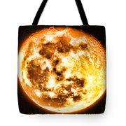 Vivid Full Moon Tote Bag