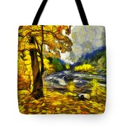 Vivid Pipeline Trail Tote Bag