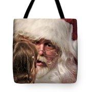 Vivid Santa  Tote Bag