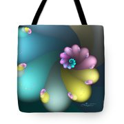 Vivid Whisper Tote Bag