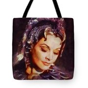 Vivien Leigh, Vintage Hollywood Actress Tote Bag