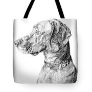 Vizlsa Dog Tote Bag