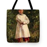 Vladimir Yegorovich Makovsky Russian 1846  1920   Ukrainian Girl, 1898 Tote Bag