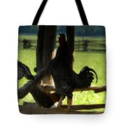 Voice Of The Farm Tote Bag