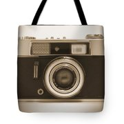 Voigtlander Rangefinder Camera Tote Bag by Mike McGlothlen