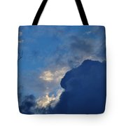 Volatile Autumn Weather Tote Bag