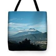 Volcan De Agua Antiqua Gutemala 3 Tote Bag