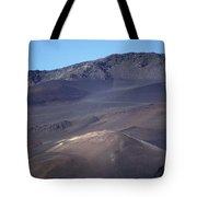 Volcanic Cinder Cones In Haleakala Tote Bag